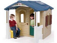 Детские домики пластиковые для дачи