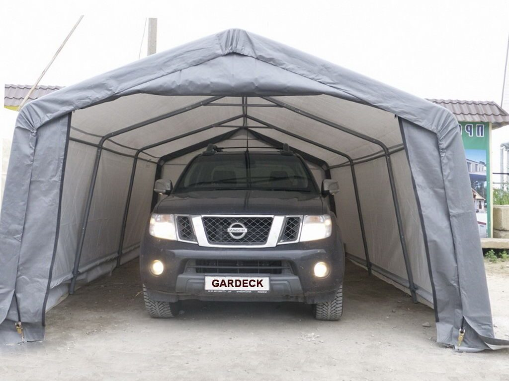Тент гараж для автомобиля своими руками