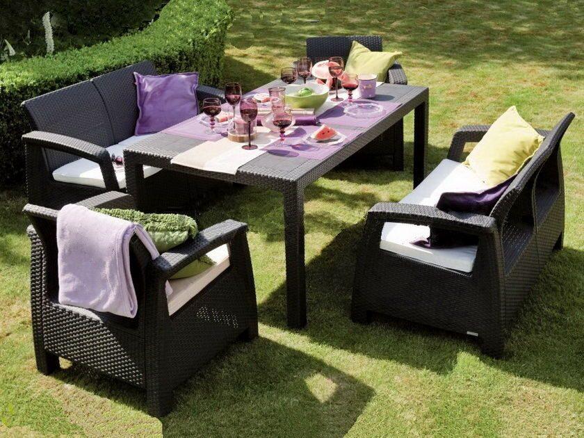 Комплект Мебели Из Искусственного Ротанга «Севилла»