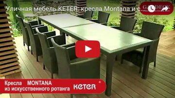 Мебель Keter в передаче Фазенда