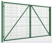 Ворота для забора из металлической сетки