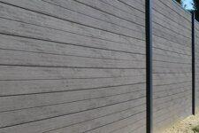 Забор сплошной для загородного дома