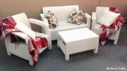 Комплект мебели Yalta Terrace Set Wite