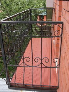 Holzhof балкон цвет терракот