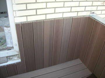 Террасная доска для балкона
