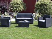 Комплект садовой мебели Nebraska чёрный
