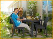 Стол Melody Quatro и стулья Toscana