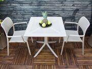Стол Clip со стульями