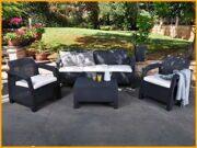 Набор мебели Corfu с тройным диваном