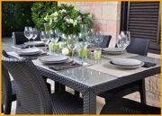Набор стол Sumatra и стулья Toscana