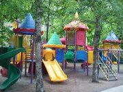 Детская площадка в детском саду №2