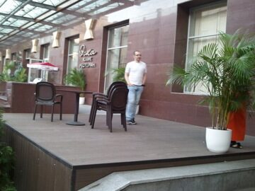 Летняя веранда кафе Эска в г. Москва