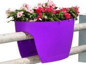Цветочница на перилах Lilac