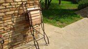 Стул-кресло ковка+дуб
