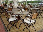 Уличная мебель для летнего кафе