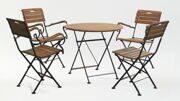 Комплект уличной мебели 4 кресла и стол