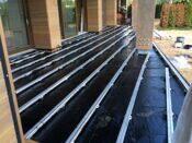 Алюминиевая лага на террасе