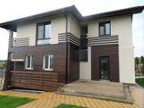 Фасад из древесно-полимерного композита (ДПК)