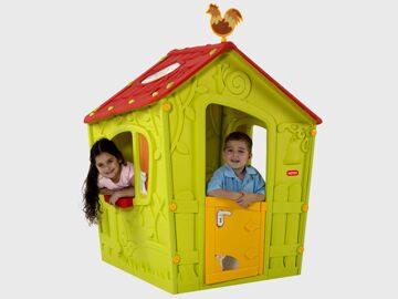 Пластиковый детский домик Magic play house