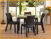 Стол Sumatra и стулья Toscana