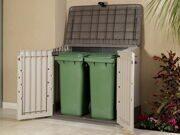 Ящик для хранения мусорных баков