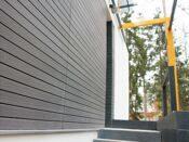 Планкен на фасаде дома