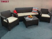 Трехместный комплект уличной мебели TWEET