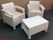 Комплект уличной мебели 2 кресла и столик TWEET Balcony Set