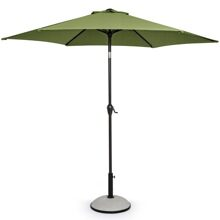 Зонт для пляжа и кафе Салерно 2,7м оливковый артикул 0795717