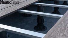 Особенности монтажа террасной доски Nautic Prime Esthetic Wood на лагу