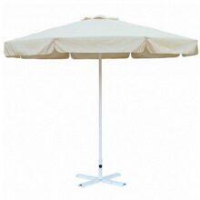 Зонт Верона 2,7м с воланом  бежевый цвет артикул 4v1020
