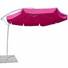 Зонт Парма для кафе и ресторанов цвет фуксия  артикул 4v1060