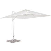 Зонт Рим 3х3м солнцезащитный для дома сада и кафе белый 0795563
