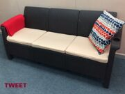 Трехместный диван TWEET Sofa 3 seat