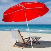 Зонт к шезлонгу с надписью