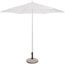 Зонт солнцезащитный Верона 2,7м белый артикул 0795221