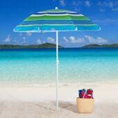 Пляжный складной зонт