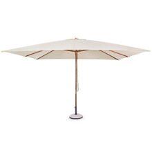 Зонт прямоугольный Неаполь 3х4 м бежевый цвет артикул 795425