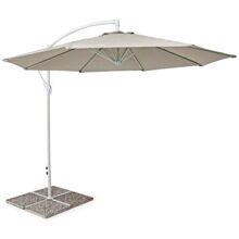 Зонт Парма 3м бежевый с боковой стойкой артикул hyg1830