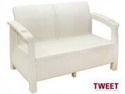 Диван уличных 2-х местный TWEET Sofa 2 seat